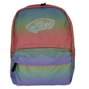 VANS Off The Wall Realm Backpack -Colorful Rainbow